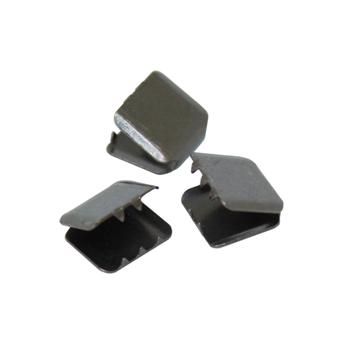 ГД313842 Зажим 10*10мм (черный никель)