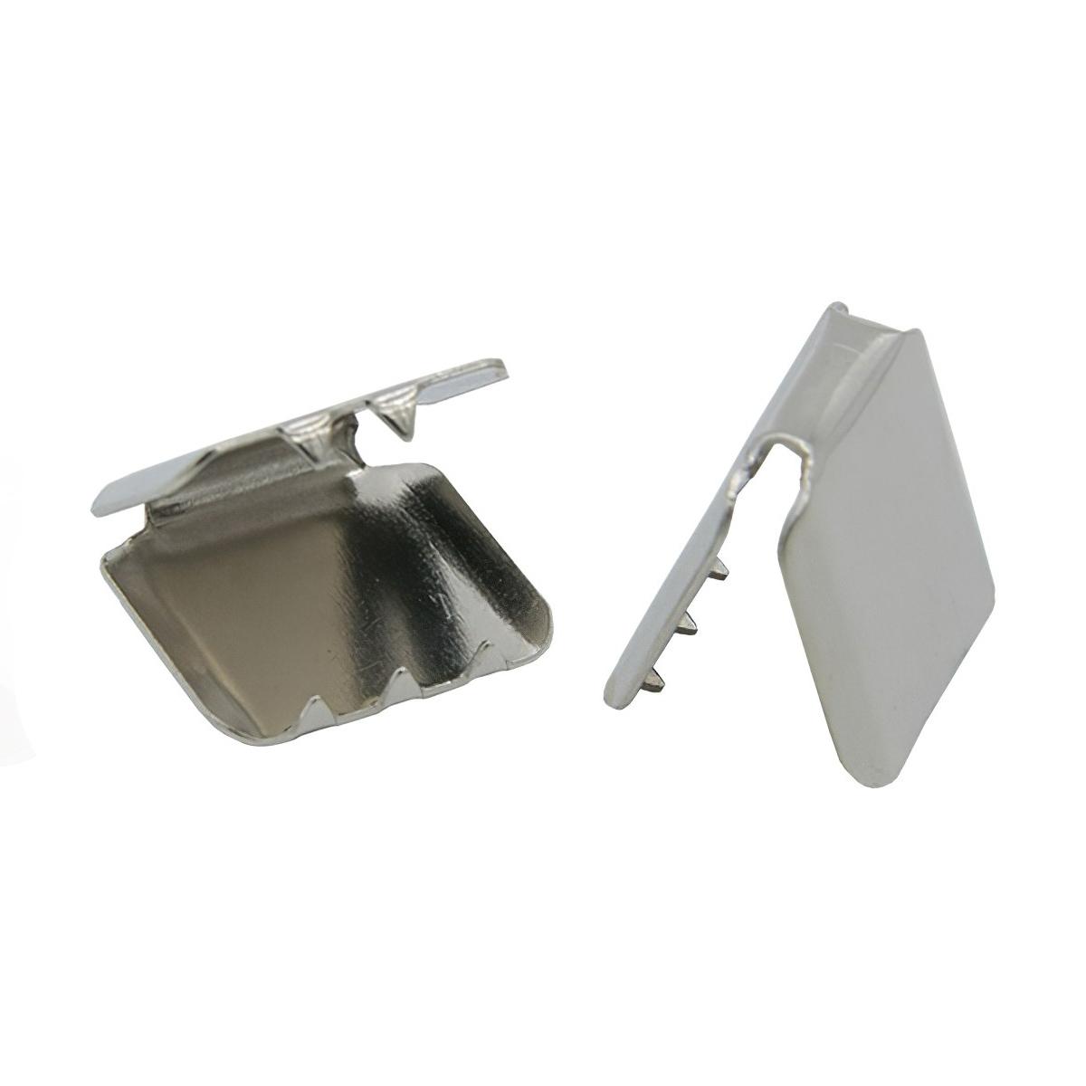 ГД313842 Зажим 10*10мм (никель)