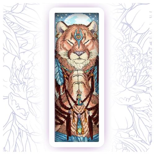 304 Набор для вышивания Astrea 'Лунная магия' 11х35см