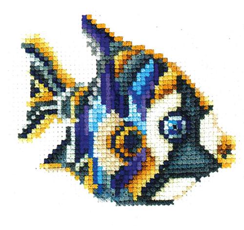 С-34 Набор для вышивания 'Статуэтки. Рыбка' 11*11см
