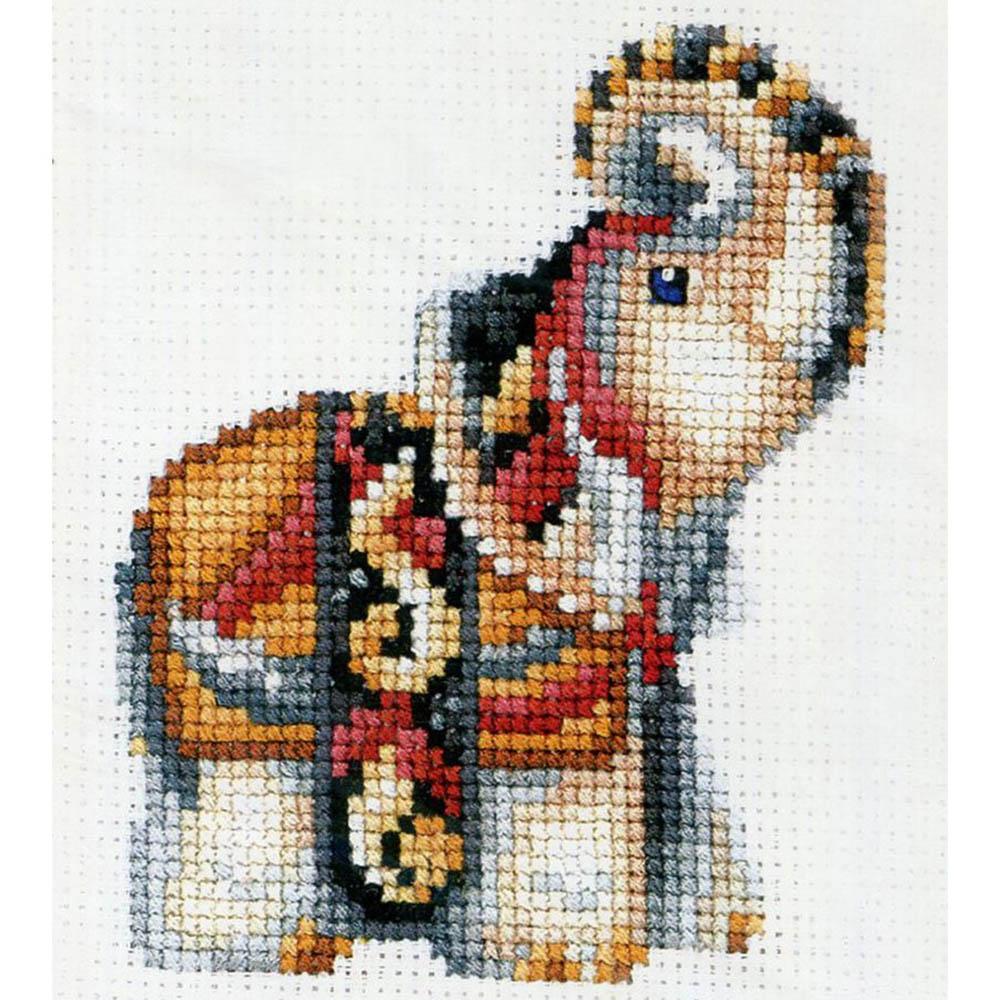 С-32 Набор для вышивания 'Статуэтки. Слон' 12*12см