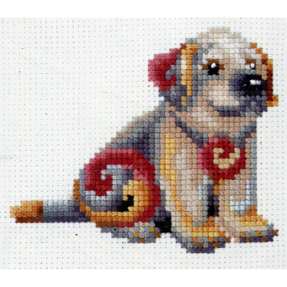 С-42 Набор для вышивания 'Статуэтки. Собака' 12*12см
