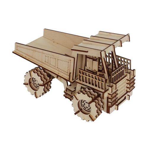 L-741 Деревянная заготовка конструктор 'Сделай сам. Белаз' 22,5*12,5*13 см Астра