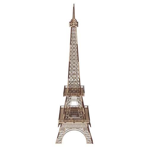 L-748 Деревянная заготовка конструктор 'Сделай сам. Эйфелевая башня. Париж' 60*16,5*16,5 см Астра