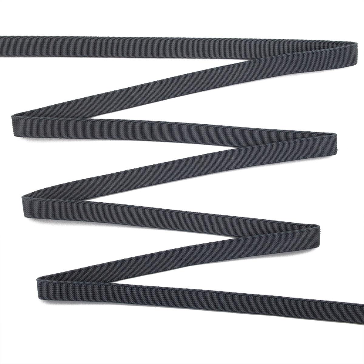 15-4160/1748 Резинка вязаная 10мм*50м т.серый