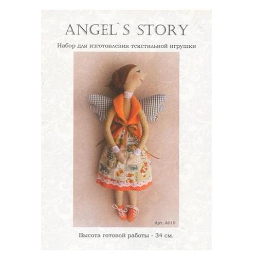A010 Набор для изготовления игрушки 'ANGEL'S STORY' 34 см