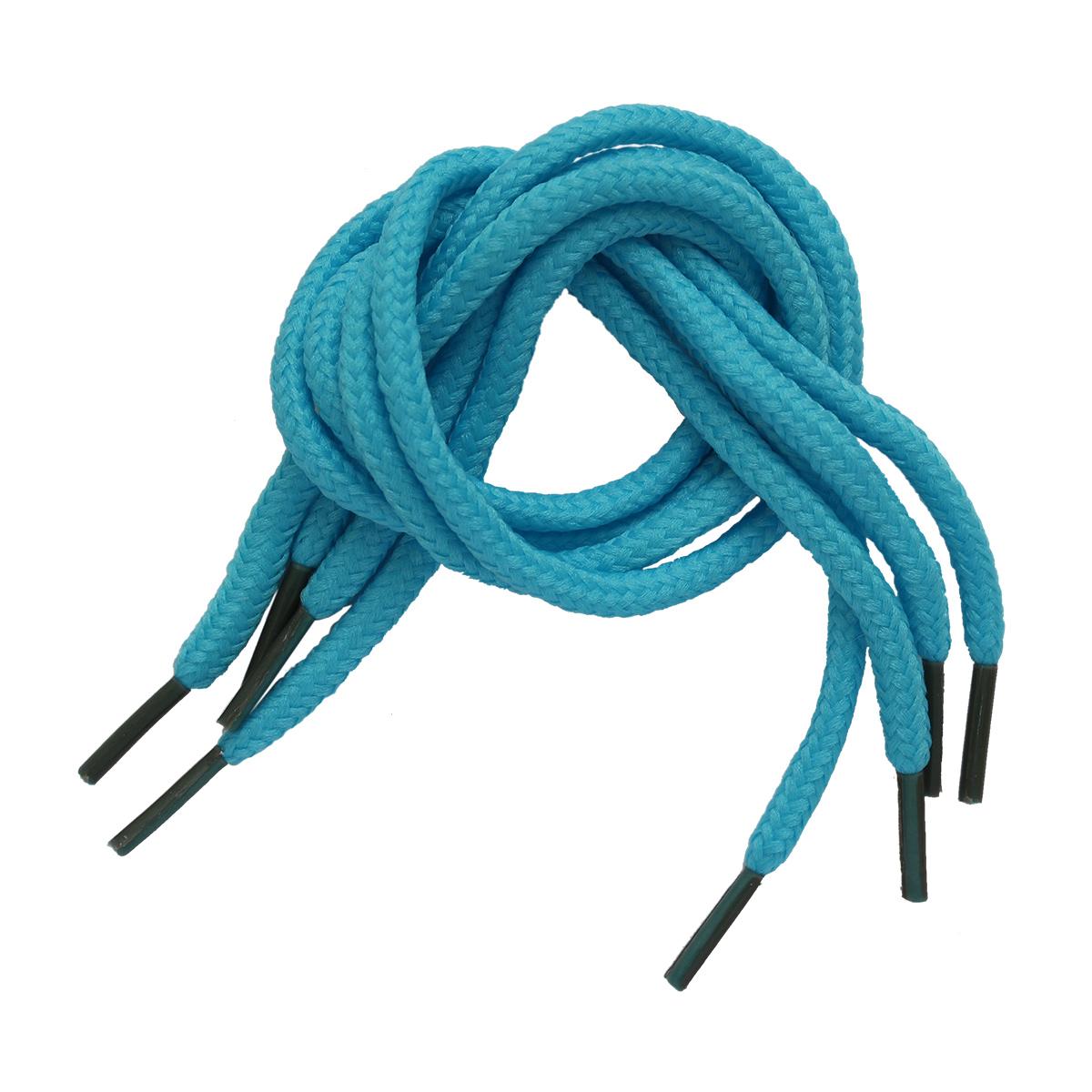 25389 Шнурки обувные для игрушек, 2,5мм*30см, 2 пары, голубые