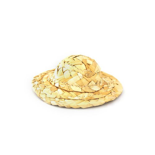 24744 Шляпа W-150 соломенная 15см уп.3шт
