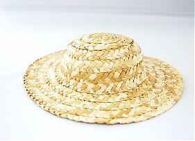 24743 Шляпа W-200 соломенная 20см уп.2шт