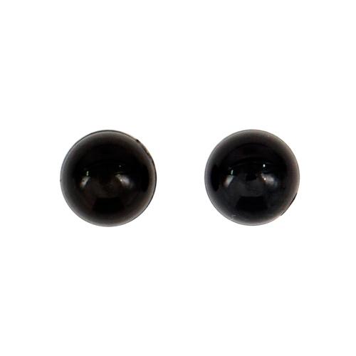 25519 Глазки кл. 5мм, цв.чёрный, упак/60шт