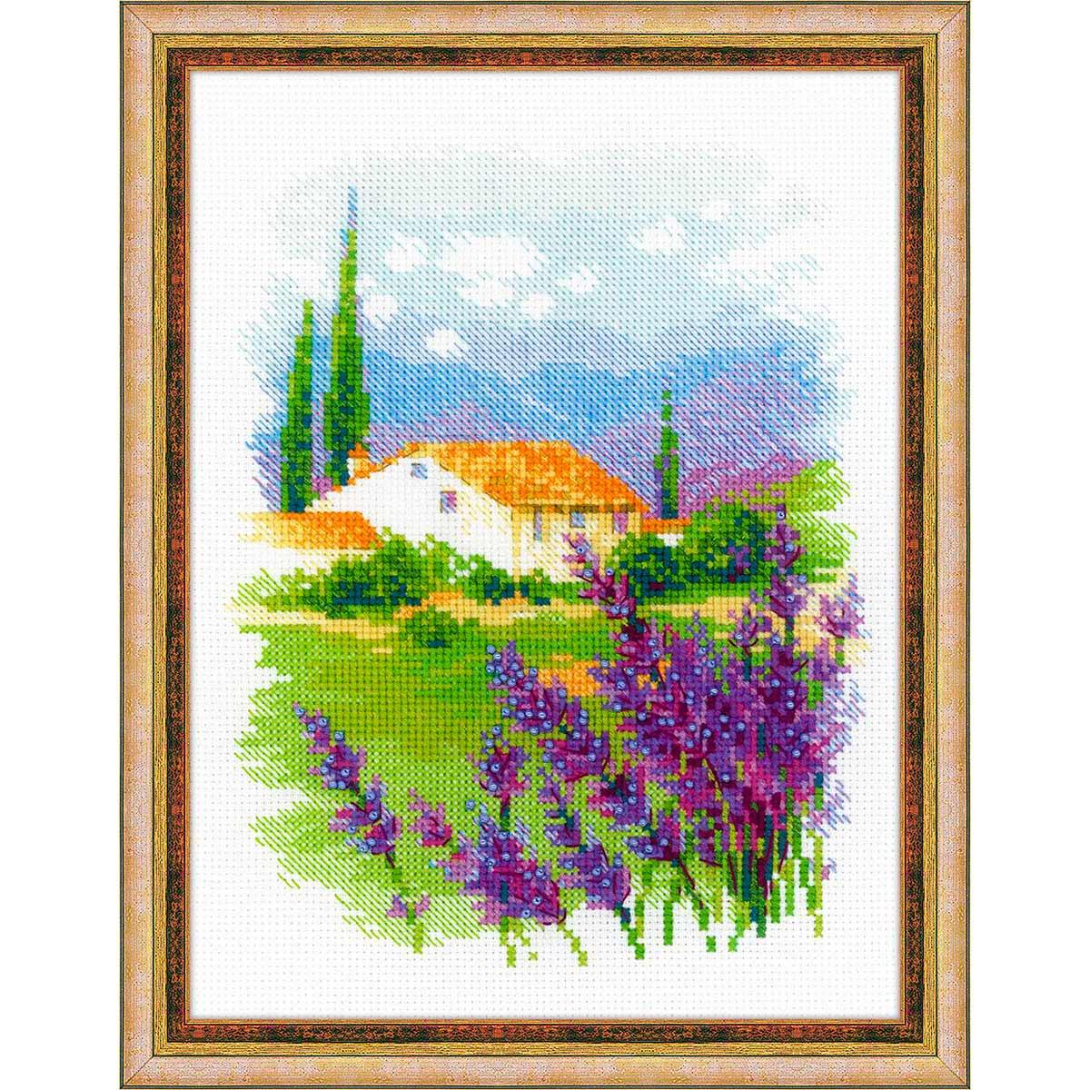 1691 Набор для вышивания Риолис 'Ферма в Провансе' 18*24см