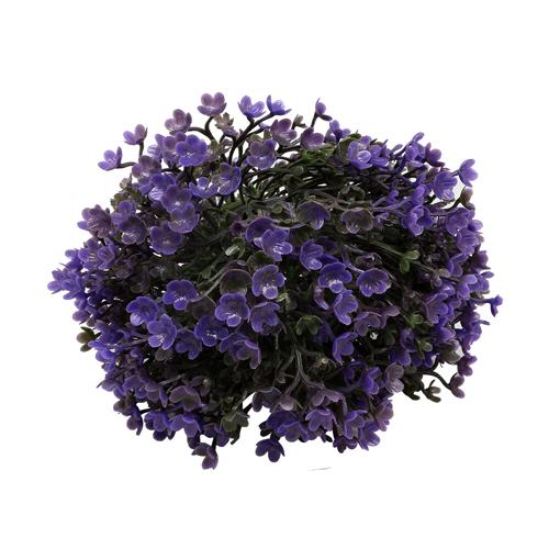 25768 Шар декоративный 'Цветы' 14см