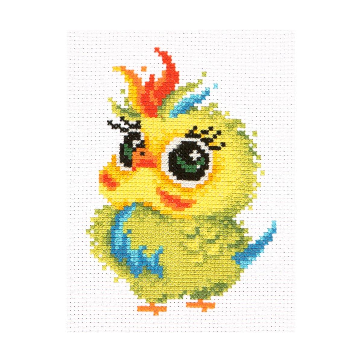 10-31 Набор для вышивания Чудесная игла 'Попугайчик' 11*16см