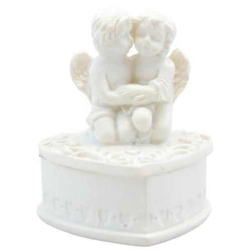 SCB56006721 Мини-шкатулка с Ангелочками-1 3,4*3*4см
