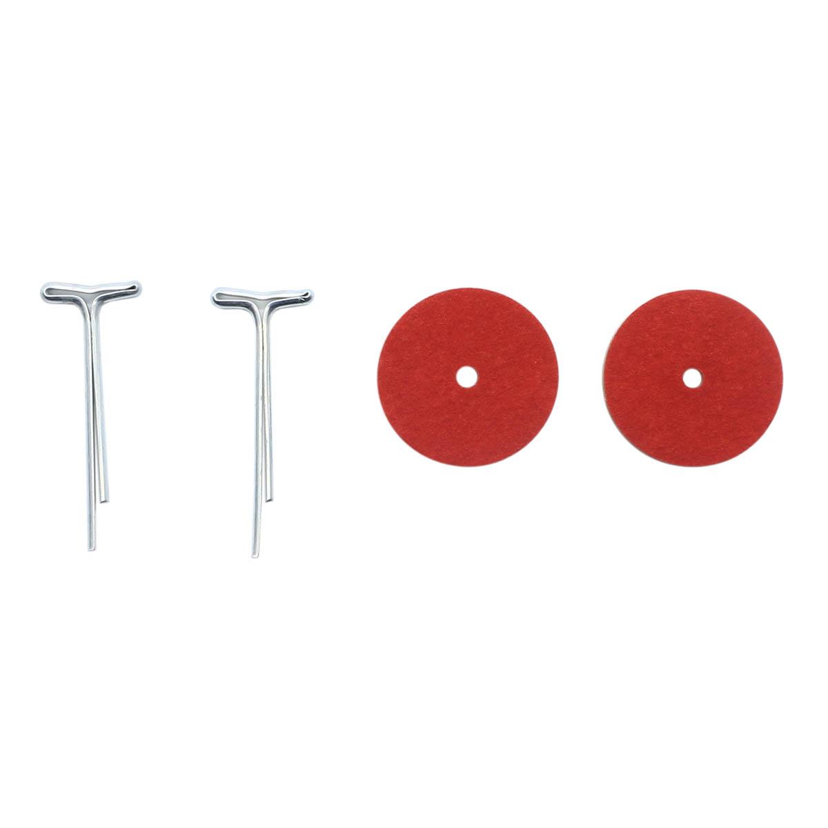 Набор креплений (5 Т-шплинтов,10 дисков фибра 20 мм)