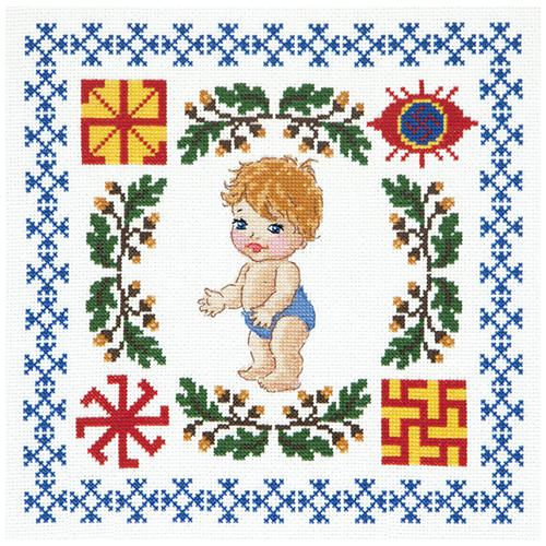 88-03 Набор для вышивания Чудесная игла 'Здоровье сыночка' 24*24см