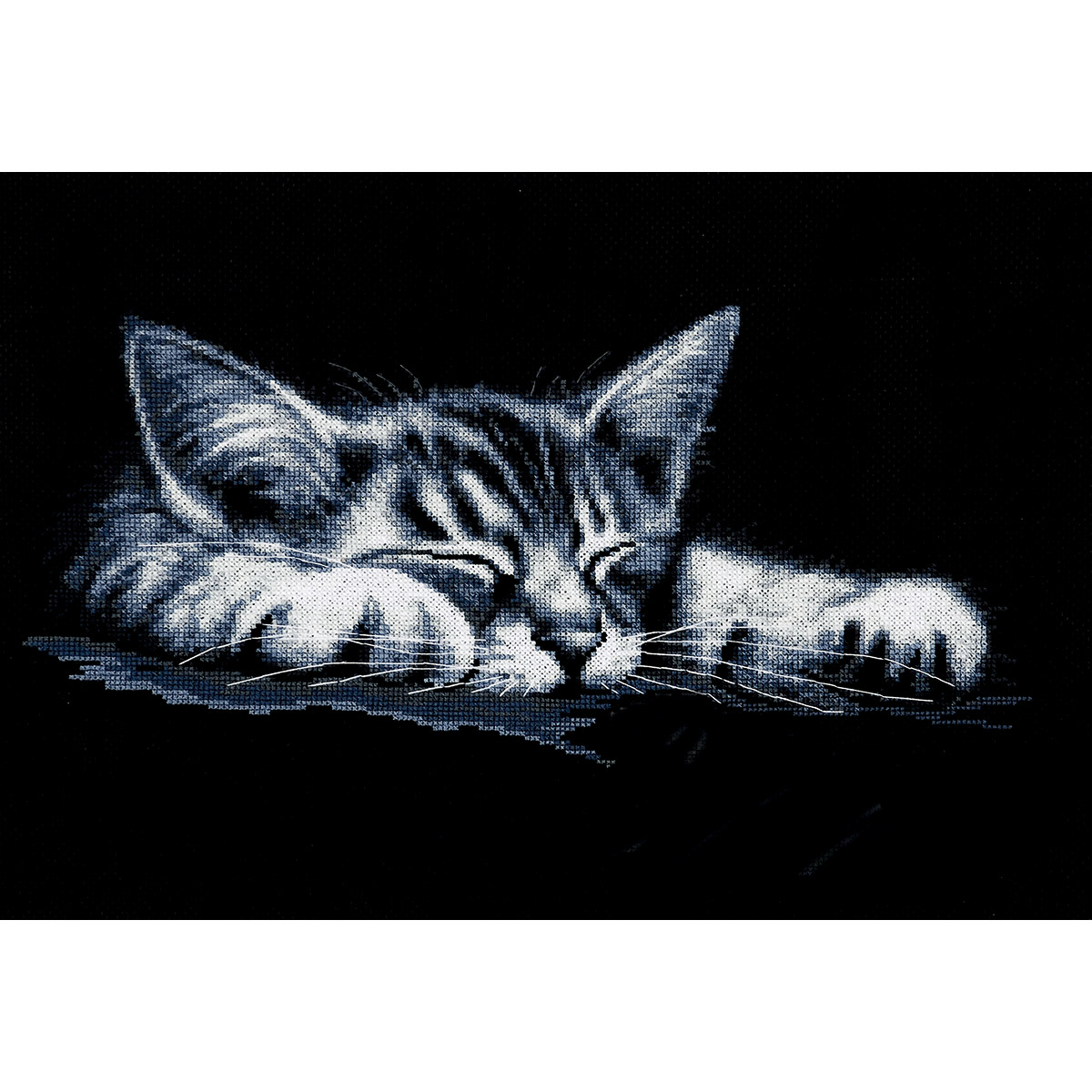 Набор для вышивания'Мой котёнок' 36*18см, 958, Hobby&Pro