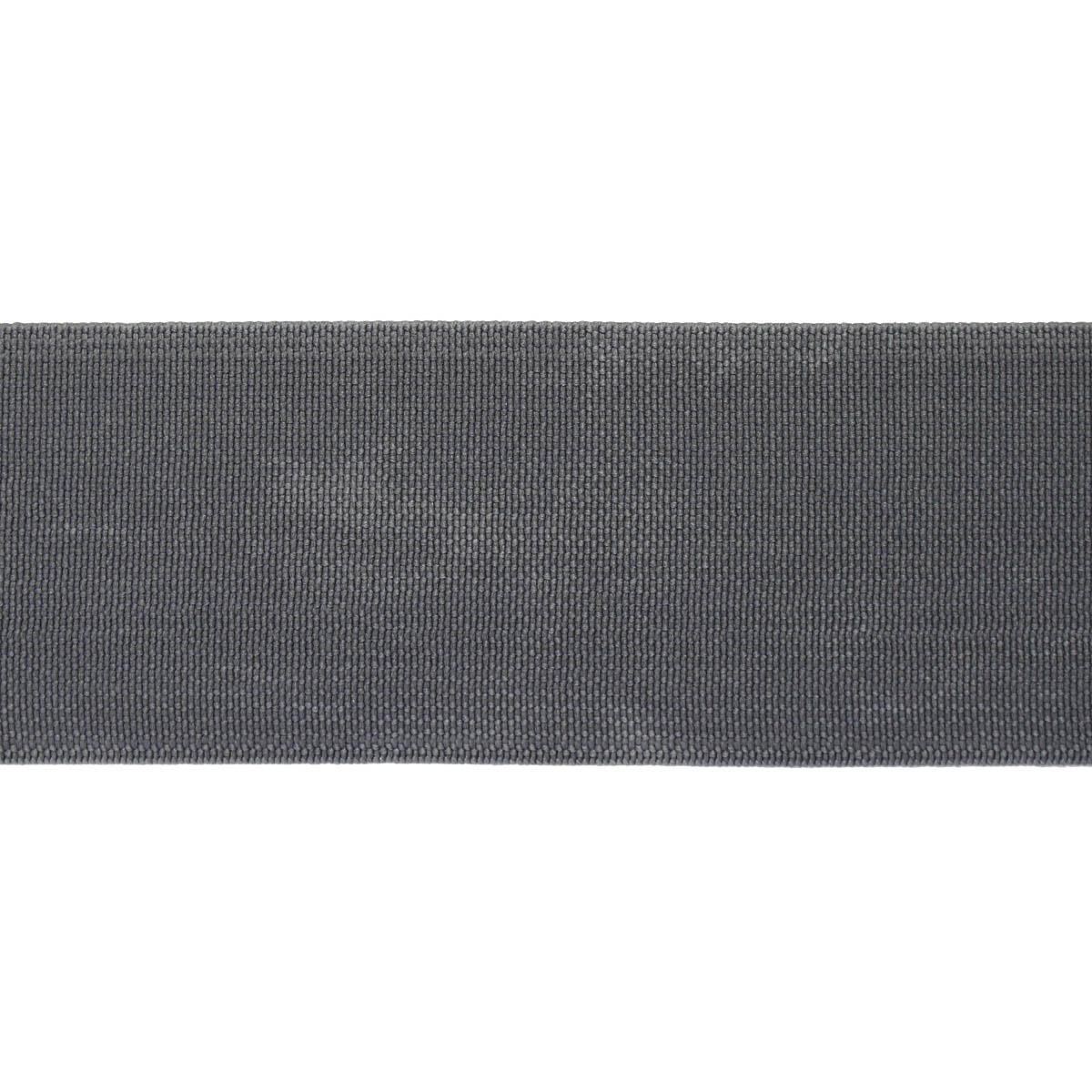 15-3850/1748 Резинка вязаная 40мм*25м т.серый ГР