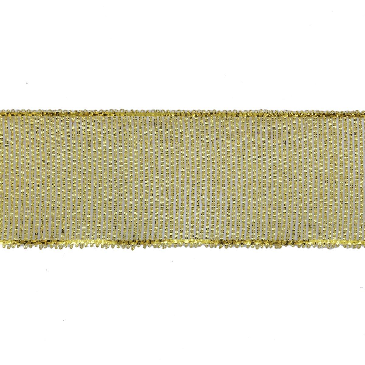 Лента металлизированная 24мм*27,4м
