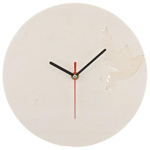 SCB350154 Деревянная заготовка Часы-голуби (с часовым механизмом) диаметр-20см