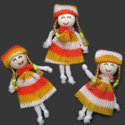 ГУ16735 Декоративная куколка 80*40мм