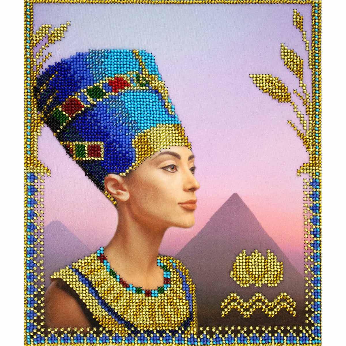 АГД-101 Набор для вышивания бисером Созвездие 'Египет' 20*24см