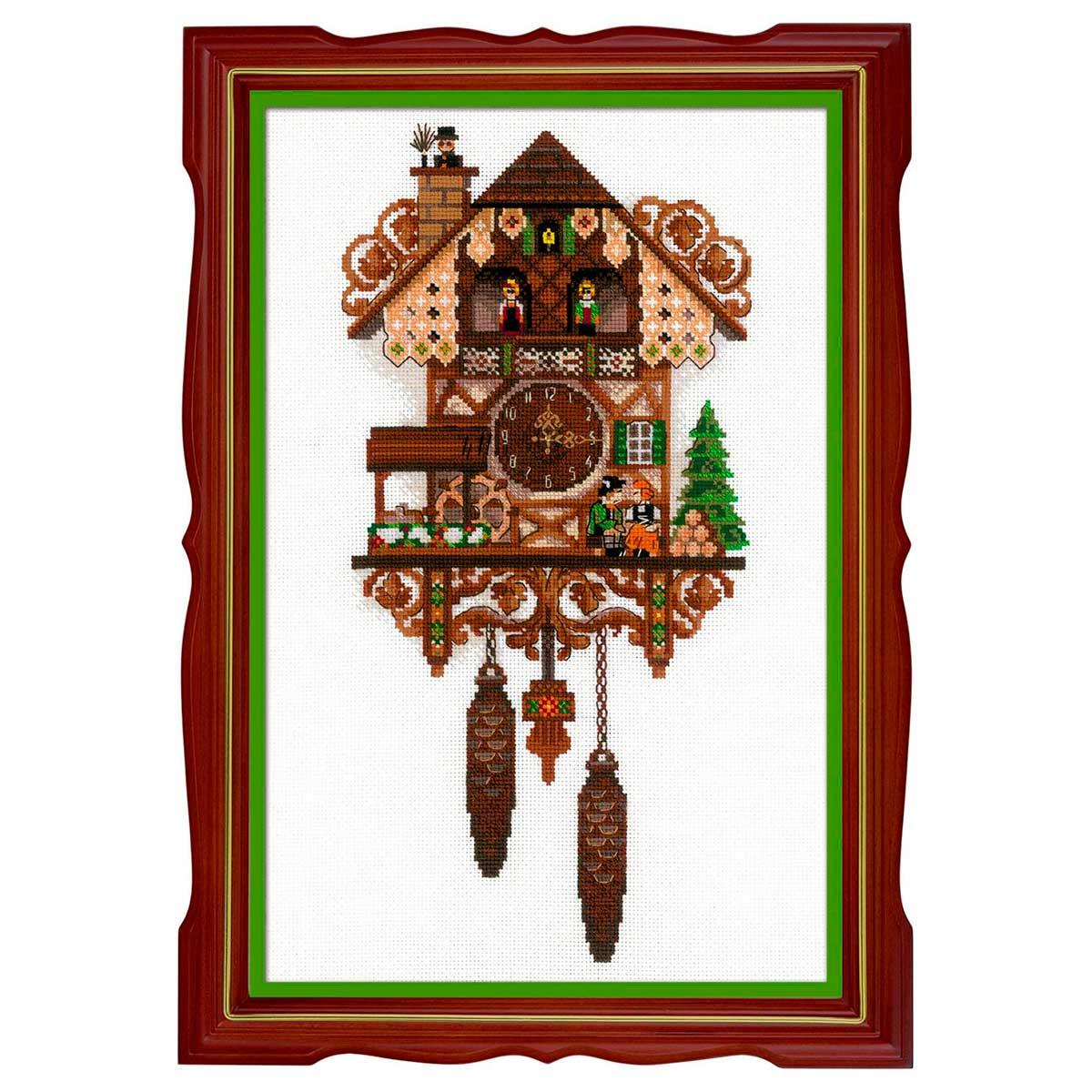 1730 Набор для вышивания Риолис 'Часы с кукушкой' 25*40см