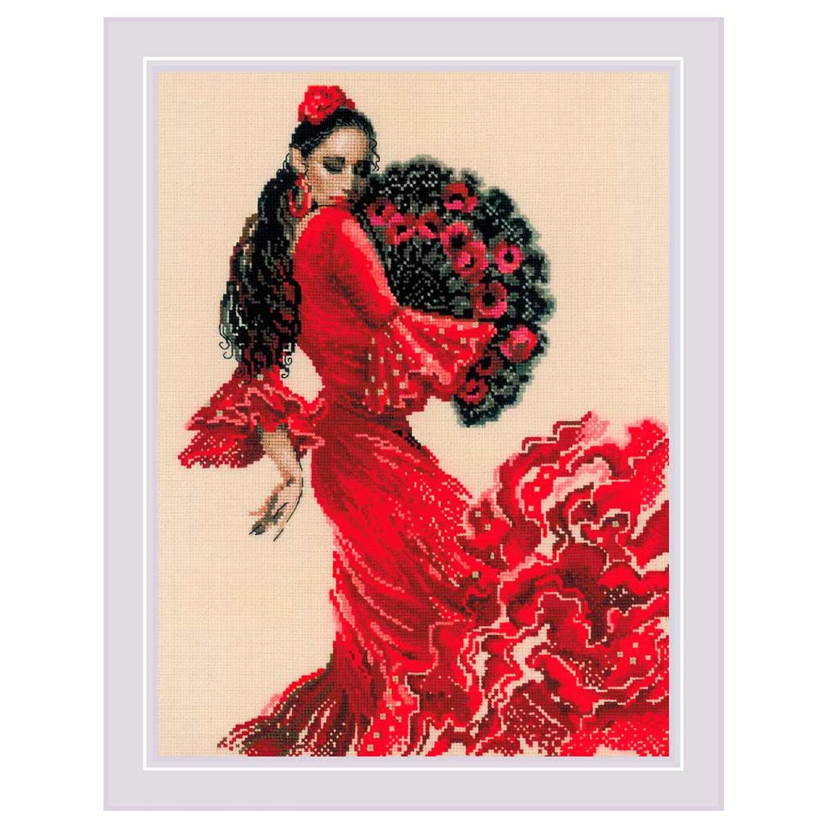 1740 Набор для вышивания Риолис 'Танцовщица' 30*40см фото