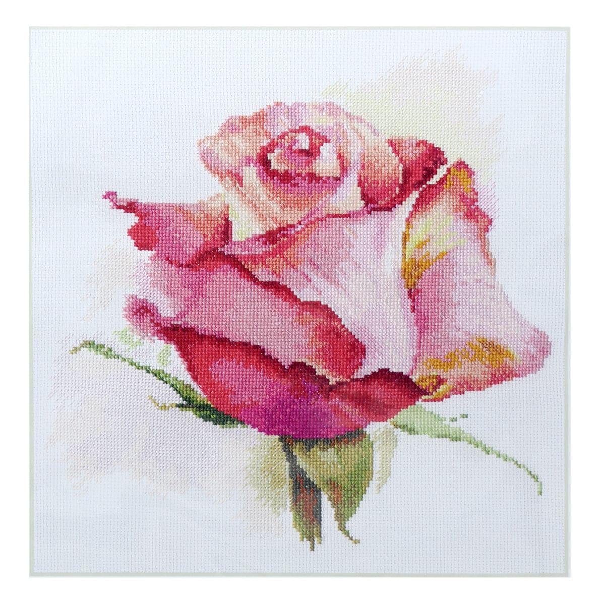 2-39 Набор для вышивания АЛИСА 'Дыхание розы. Очарование' 24*24см