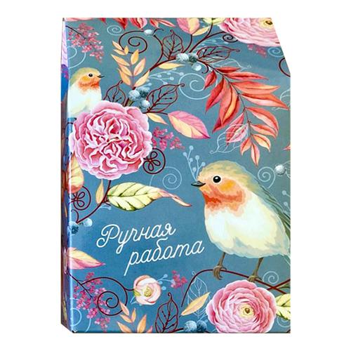 Декоративная упаковка 'Птицы' (коробочка вертикальная) 17,5*11*5см