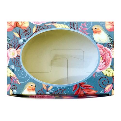 Декоративная упаковка 'Птицы' (коробочка с окошком) 15,5*11*4см