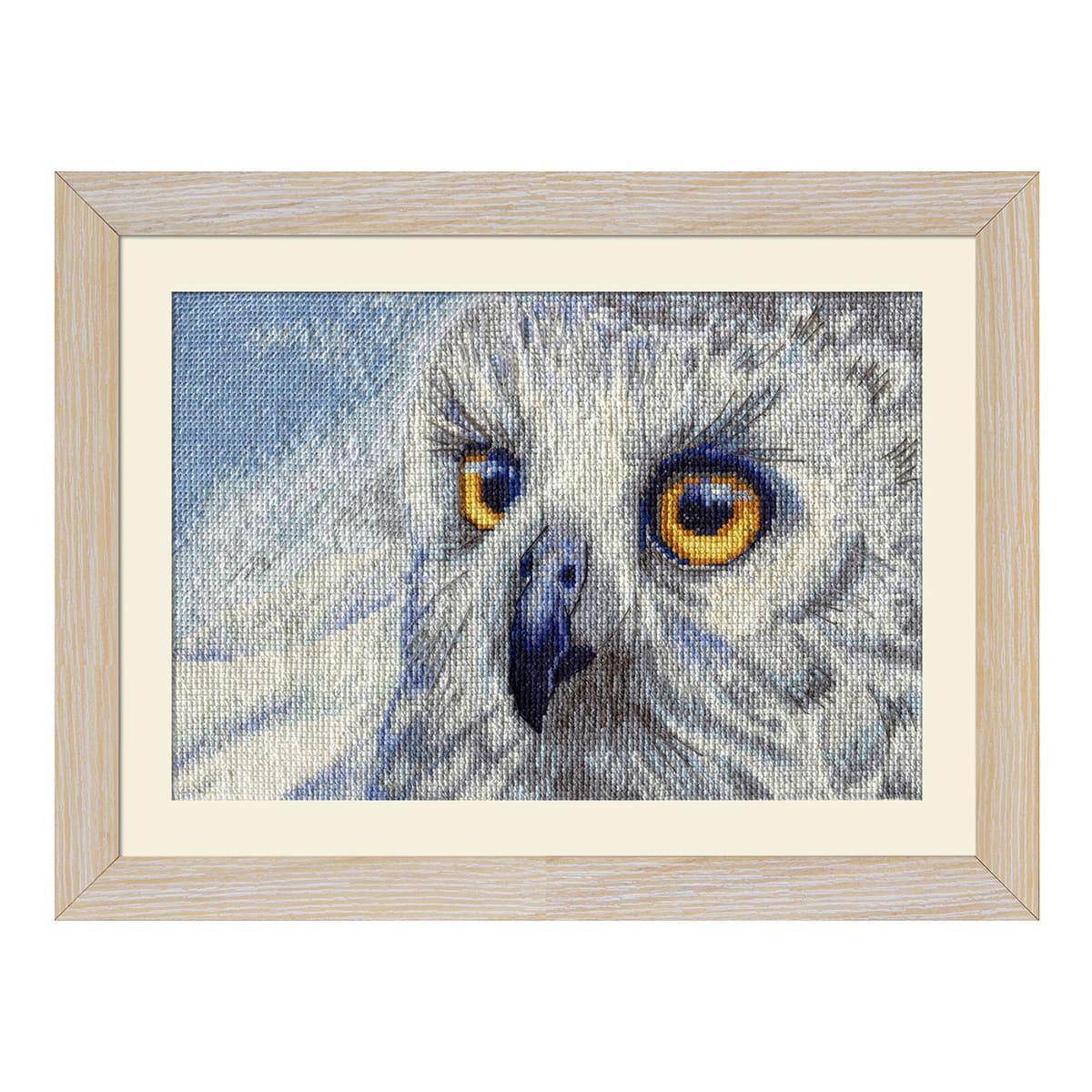 НВ5510 Набор для вышивания 'Полярная сова' 25x15см