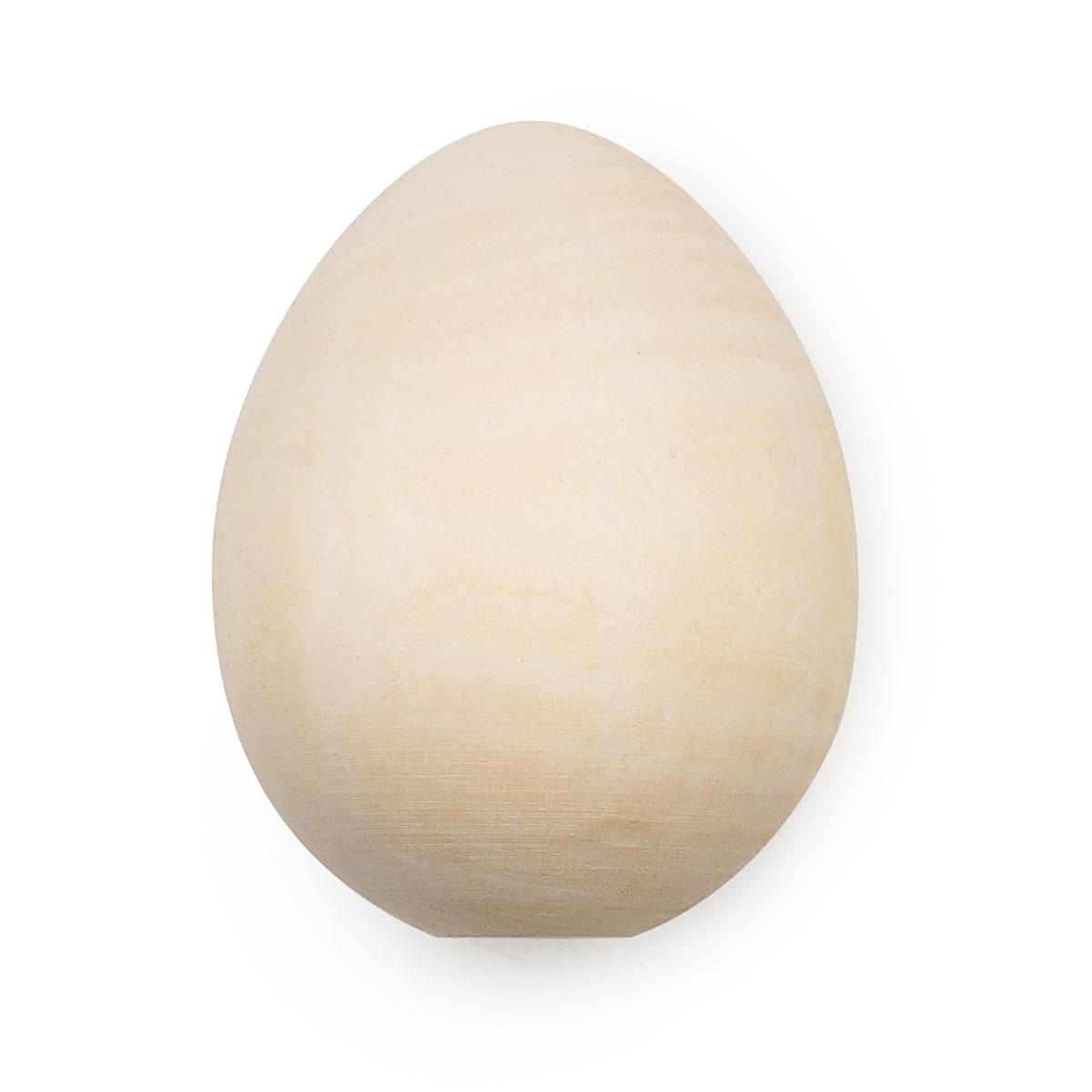 Деревянная заготовка Яйцо h 90*d 70мм