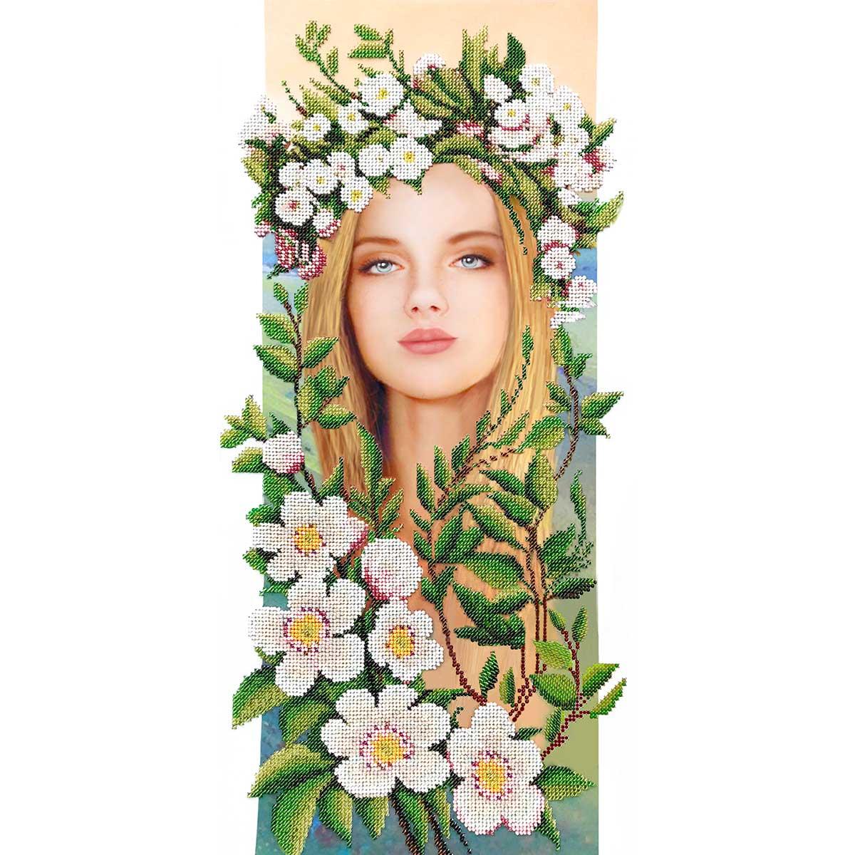 АВР-02 Наборы для вышивания бисером Созвездие 'Весна' 25*50см