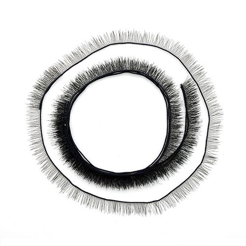 ВА-00001380 Реснички для глаз 5мм/20см, коричн.
