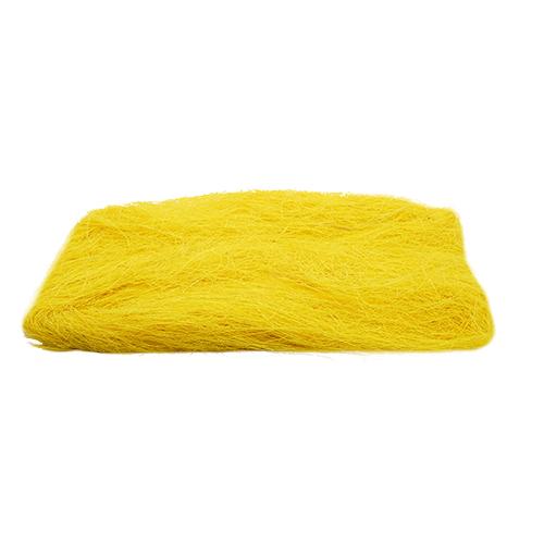 52734 Волокно сизаля 40г лимонное