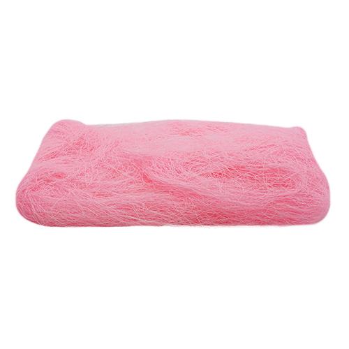 52737 Волокно сизаля 40г светло-розовое