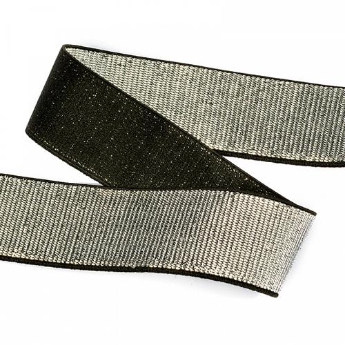 TBY.ET Резинка тканая металлизированная 40мм*30м