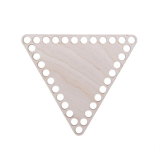 L-957 Деревянная заготовка Донышко Треугольник 160*160*160*3мм Астра