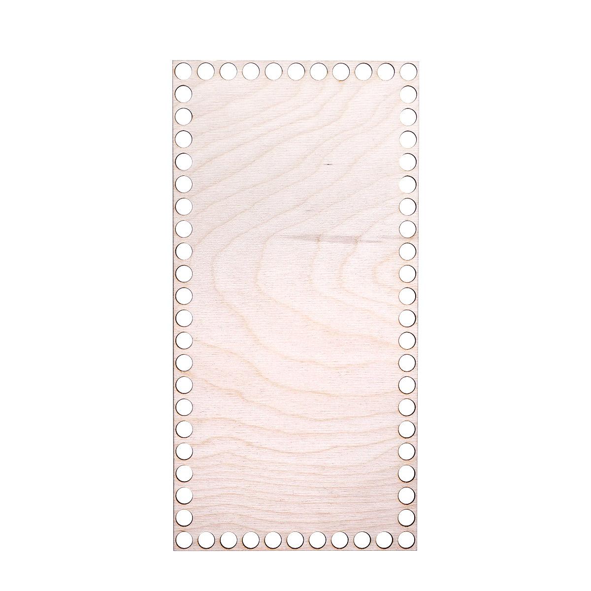 L-960 Деревянная заготовка Донышко Прямоугольник 150*300*3мм Астра