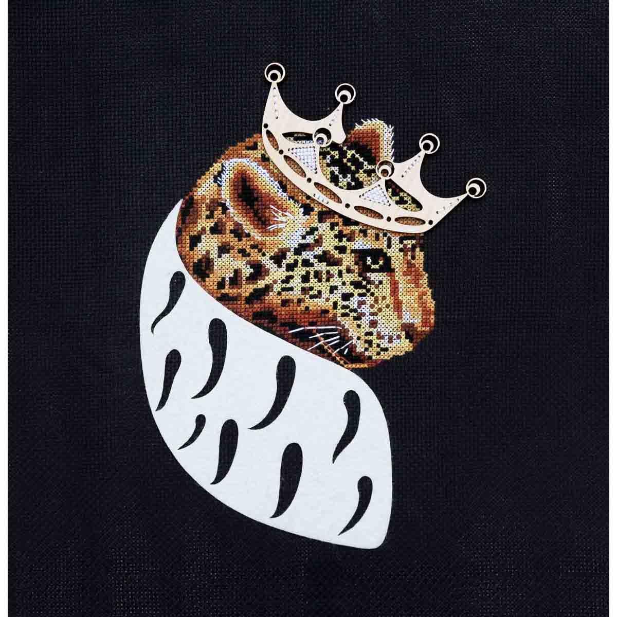 К-184 Набор для вышивания крестом Созвездие 'Король Лео' 22*15,5см