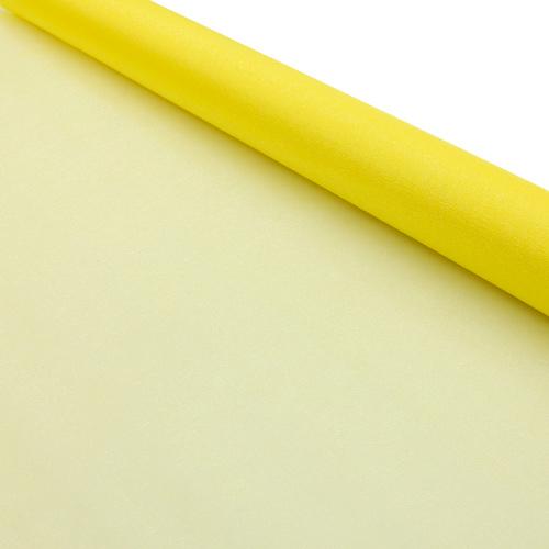 11426585 Органза-снег в рулоне 70см*10м желтый