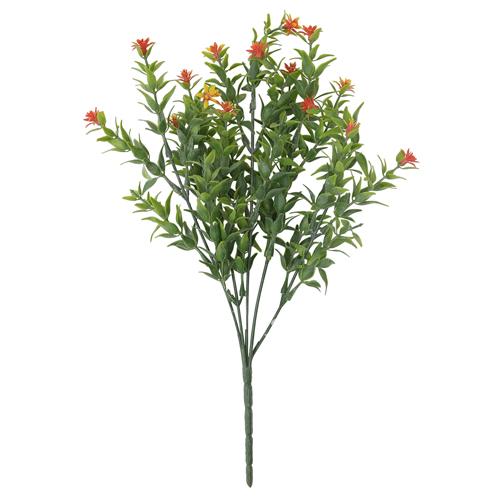 59221 ИЦ Ветка зелени с цветами 33см 273