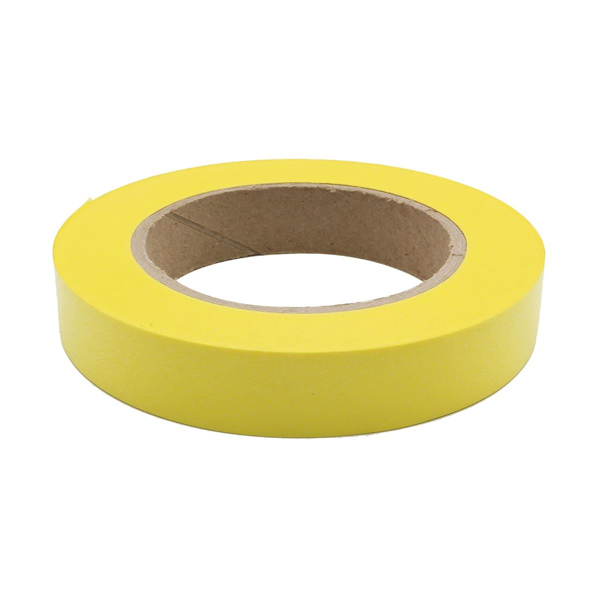 59613 Лента простая 2/50 однотонная гладкая Р295 желтая