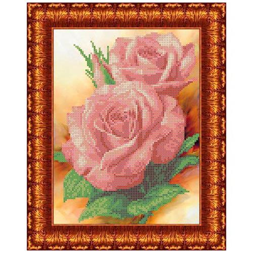 КК 0004 Канва с рисунком Каролинка 'Поэзия' 17*17 см