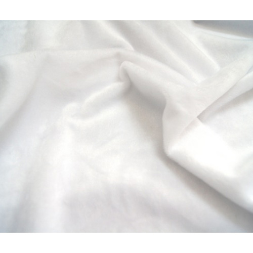 24897 Мех М-1452 коротковорсовый 1,5мм, 50*50см (+- 2см), 100% п/э, белый