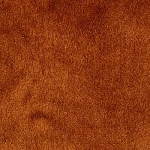24898 Мех М-1453 коротковорсовый 1,5мм, 50*50см (+- 2см), 100% п/э, коричневый