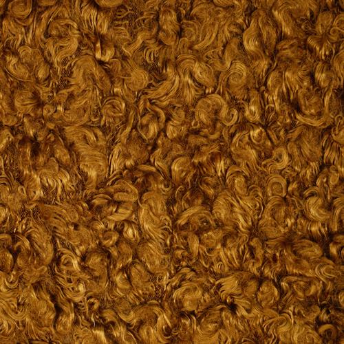 24888 Мех 'Кудрявый' 50см*50см (+/-1,0см), цв. коричневый