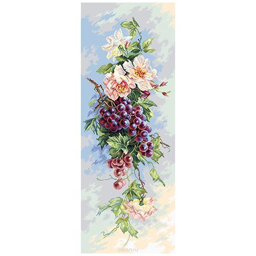 1820 Канва с рисунком Матренин посад 'Виноградная лоза' 40*90см