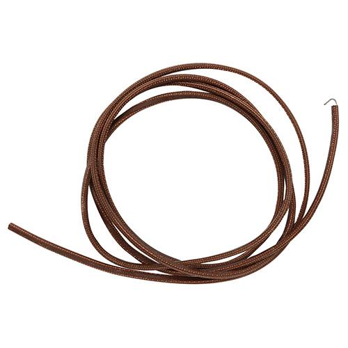 Ремень кожанный с текстр. кордом 1,85 м